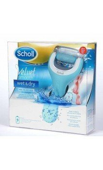 DR SCHOLL VELVET SMOOTH LIMA PIES WET &DRY RECARGABLE