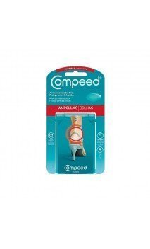 COMPEED APOSITO HIDROCOLOIDE AMPOLLAS INVISIBLES 5 APOSITOS