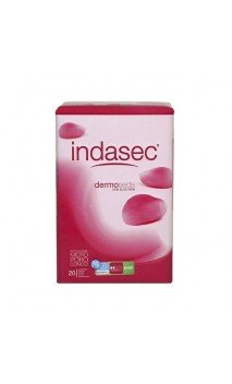 INDASEC DISCREET NORMAL 24 + 12 COMPRESAS