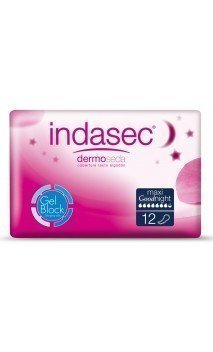 INDASEC MAXI COMPRESA PERDIDAS LEVES GOODNIGHT 12 ABSORB