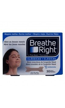 Rhinomer By Breathe Right Tira Adh Nasal Clasicas T- Peq-med 30 U