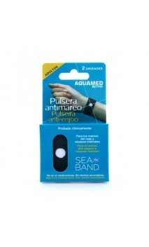 SEA BAND BY AQUAMED ACTIVE PULSERA ANTIMAREO ADULTO 2U
