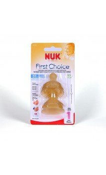Tetina Latex Nuk First Choice Alimento T-1 L 2 U
