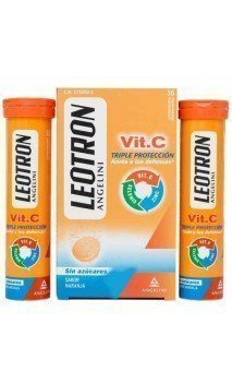 LEOTRON VITAMINA C  36 COMP EFERVESCENTES