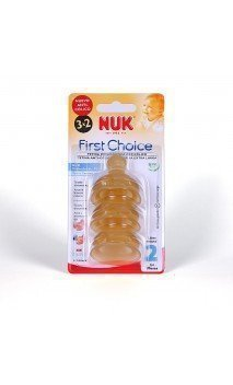 Tetina Fc Latex Alimento Anticolico Nuk First Choice T-2 2 U
