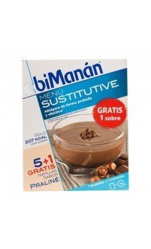 Bimanan Natillas Sabor Chocolate 300g
