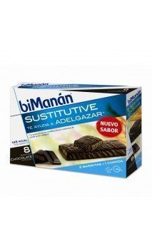 Bimanan Barritas Chocolate Intenso 8 U