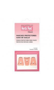 PARCHES PROTECTORES OJOS DE GALLO HERBI FEET