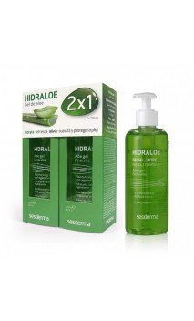 Pack Hidraloe Gel De Aloe 2 X 250 Ml