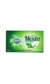 JUANOLA CHICLES MENTA 10 U.