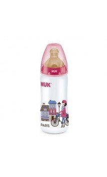 Biberon Fc + Pp Latex Coleccion Nuk 1 M 300 Ml