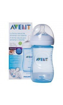Avent Biberon Natural 260 Ml Azul