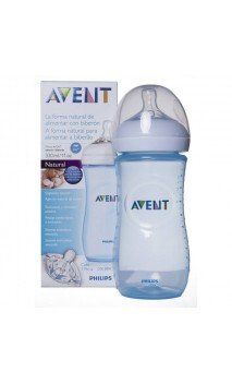 Avent Biberon Natural 330 Ml Azul
