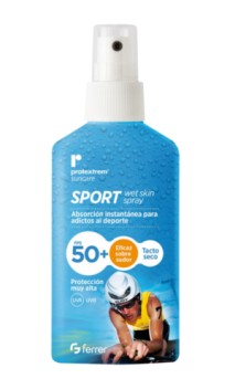 Protextrem Sport Invisible Spray Fps 50+ 100 Ml