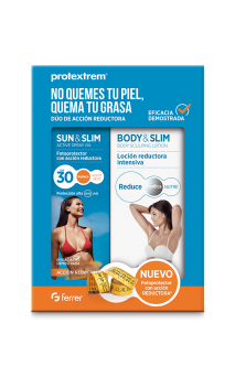 PROTEXTREM PACK SLIM SUN & SLIM ACTIVE + + BODY & SLIM NUTRITIVE CREAM 200 ML + 150 ML