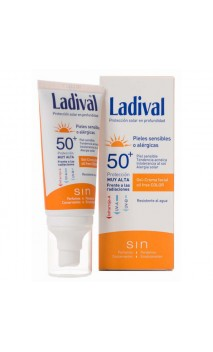 LADIVAL FACIAL PIEL SENSIBLE FPS 50+ GEL-CREMA 1 ENVASE 50 ML