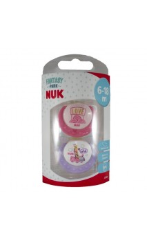 CHUPETE LATEX COLECCION NUK T-2 BLISTER 1 U