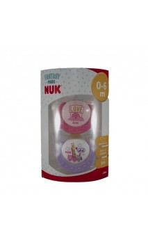 CHUPETE LATEX COLECCION NUK T-1 BLISTER 1 U