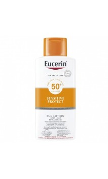 EUCERIN SUN PROTECTION 50+ LOCION EXTRA LIGHT SENSITIVE PROTECT 1 ENVASE 400 ML